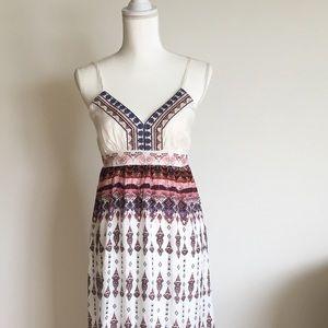 NWOT.  Love Kuza bohemian maxi dress.